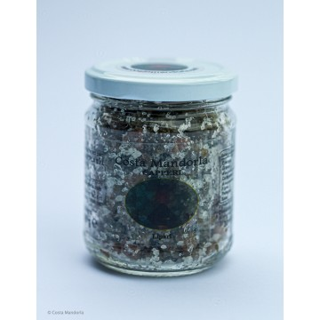 Salted capers (9 mm) in salt